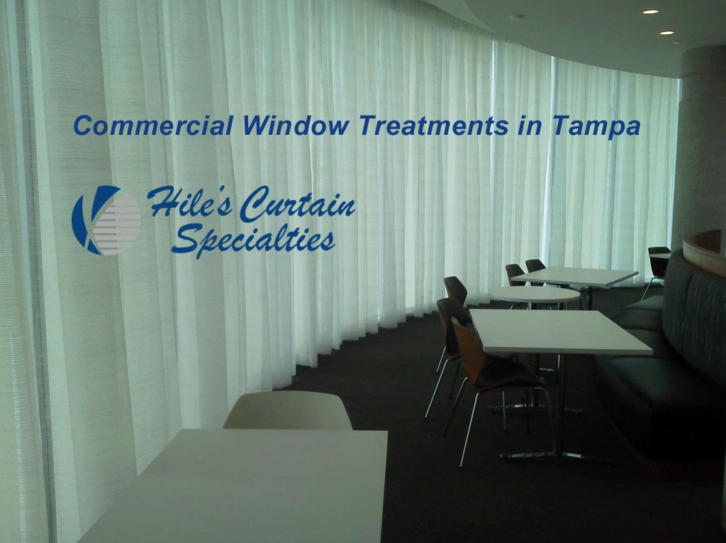 Commercial Window Treatments in Tampa