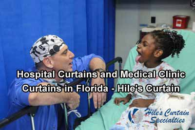 Hospital Curtains and Medical Clinic Curtains in Florida - Hiles Curtain Specialties