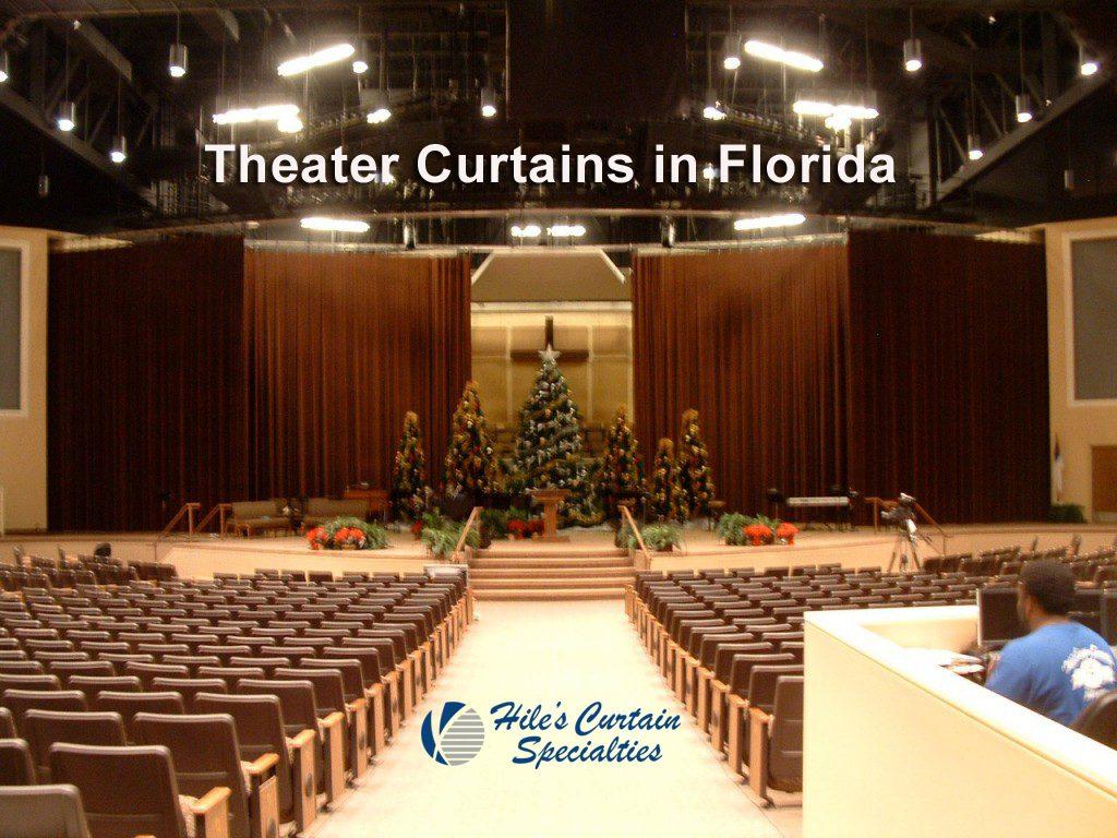 Theater and Auditorium Curtains in Florida