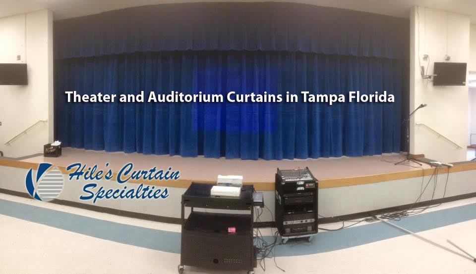 Auditorium Curtains in Tampa Florida