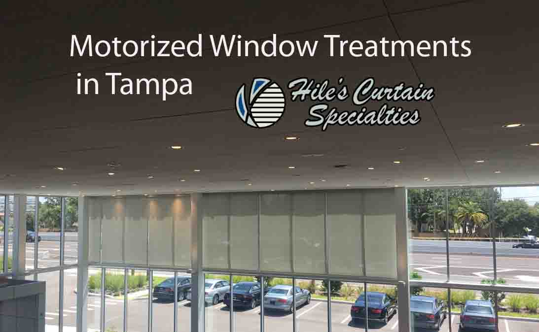 Motorized Window Treatments in Tampa 2