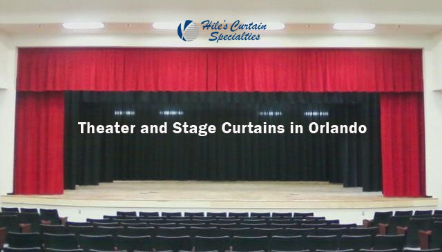 Stage Curtains in Orlando