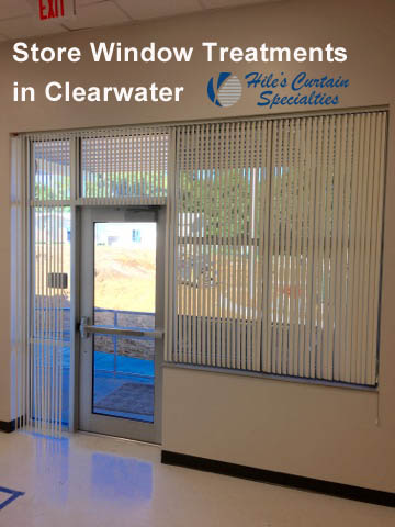 Store Window Treatments in Clearwater