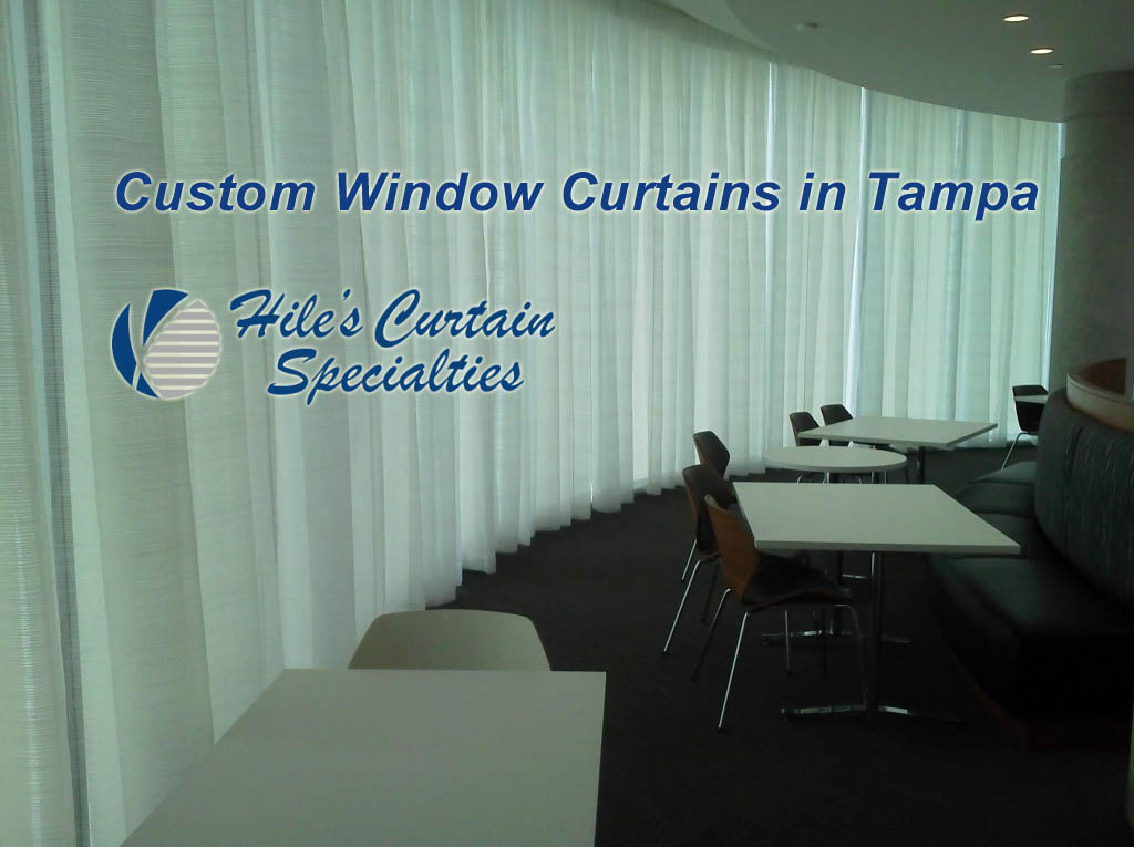 Custom Window Curtains in Tampa
