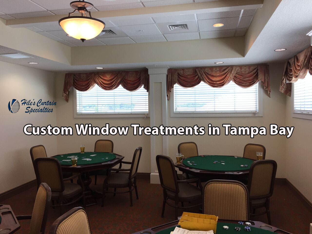 Custom Window Treatments In Tampa Bay U2013 Curtains, Shades, Blinds