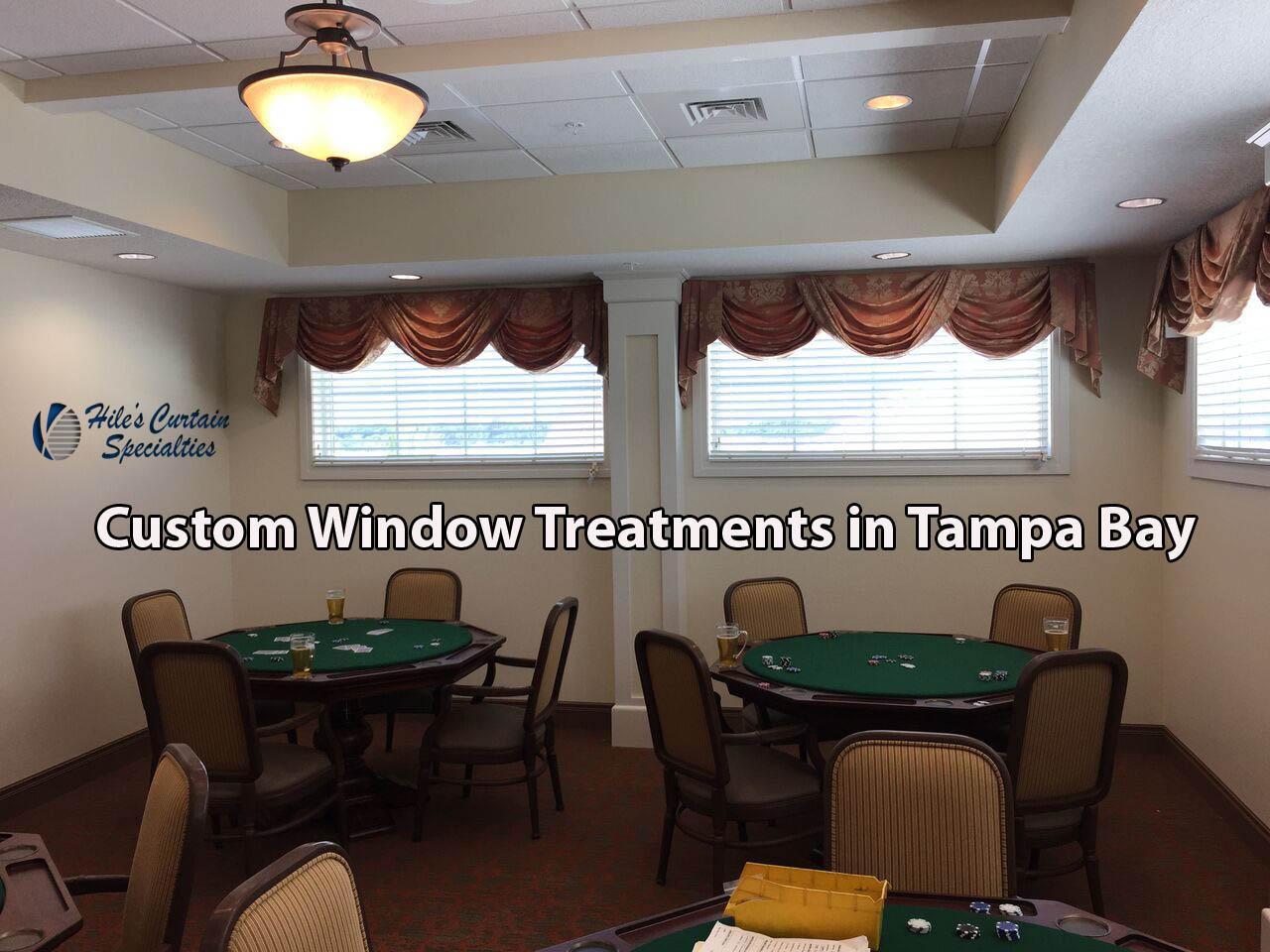 Custom Window Treatments In Tampa Bay Curtains Shades