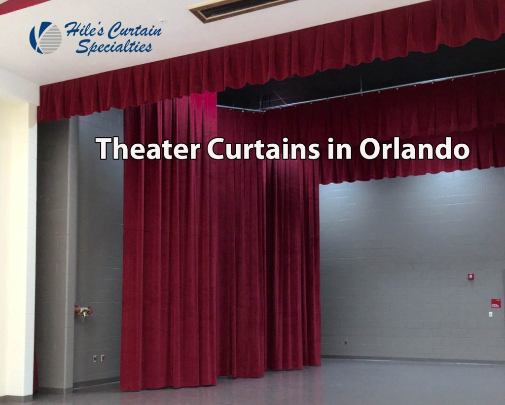 Theater Curtains in Orlando