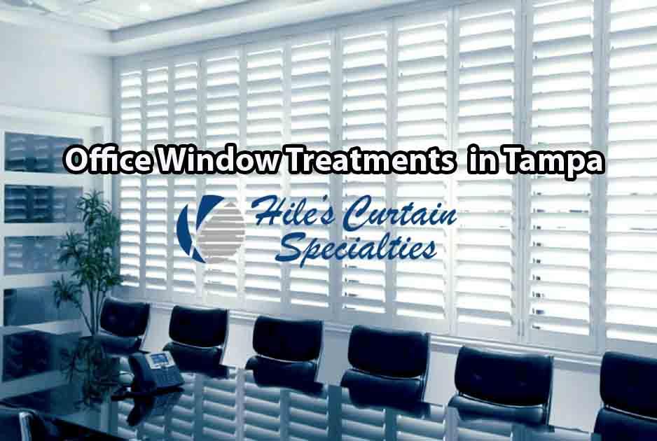 Office Window Shutters in Tampa Bay