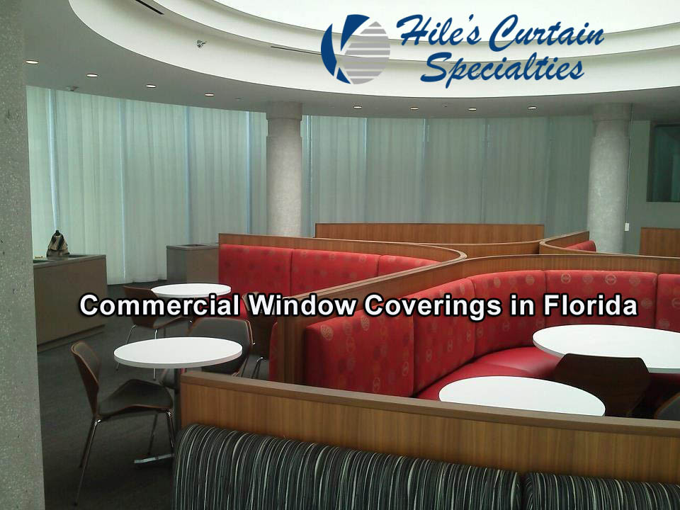 Commercial Window Coverings in Florida