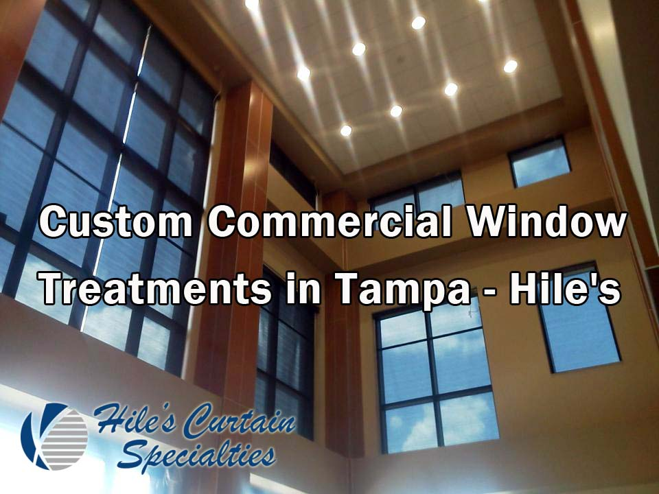 Custom commercial window treatments in tampa hiles curtains custom commercial window treatments in tampa mozeypictures Gallery