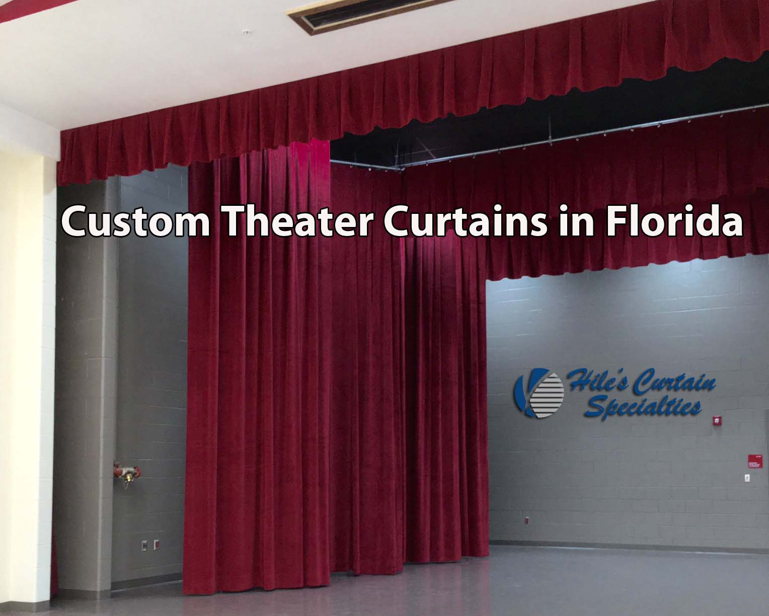 Custom Theater Curtains in Florida