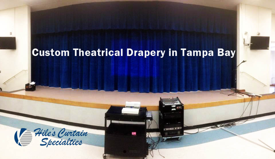 Custom Theatrical Drapery in Tampa Bay