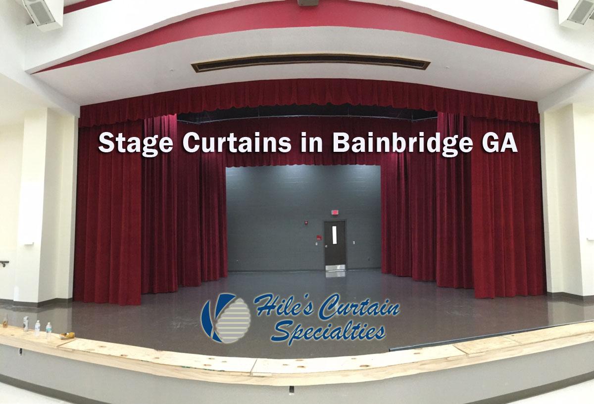 Stage Curtains in Bainbridge GA