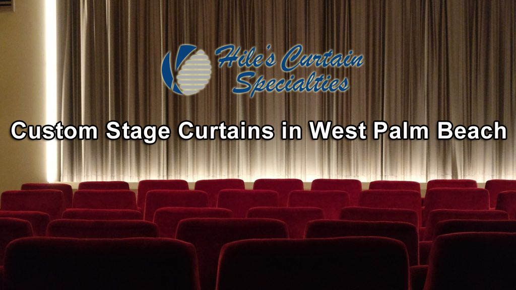 Stage Curtains in West Palm Beach