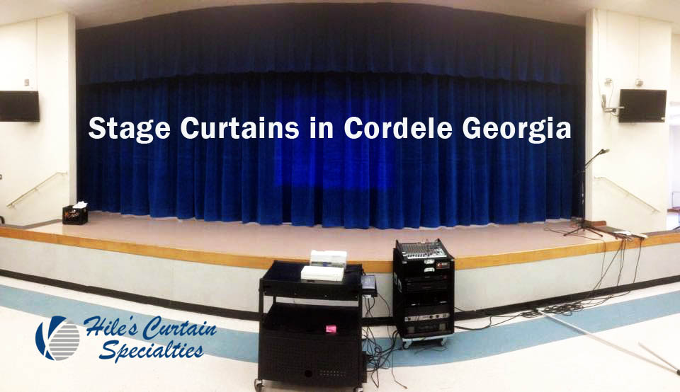 Stage Curtains in Cordele - Hile's Curtain Specialties