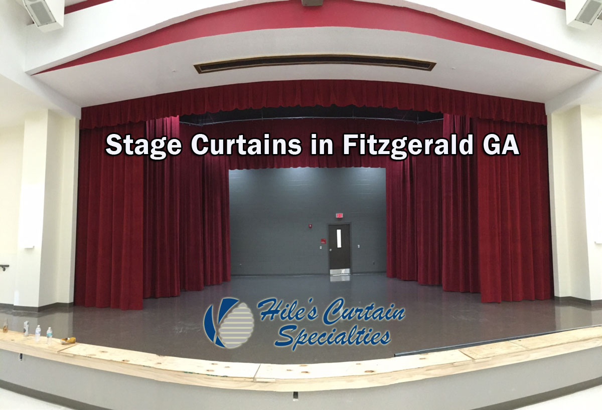 Stage Curtains in Fitzgerald Georgia
