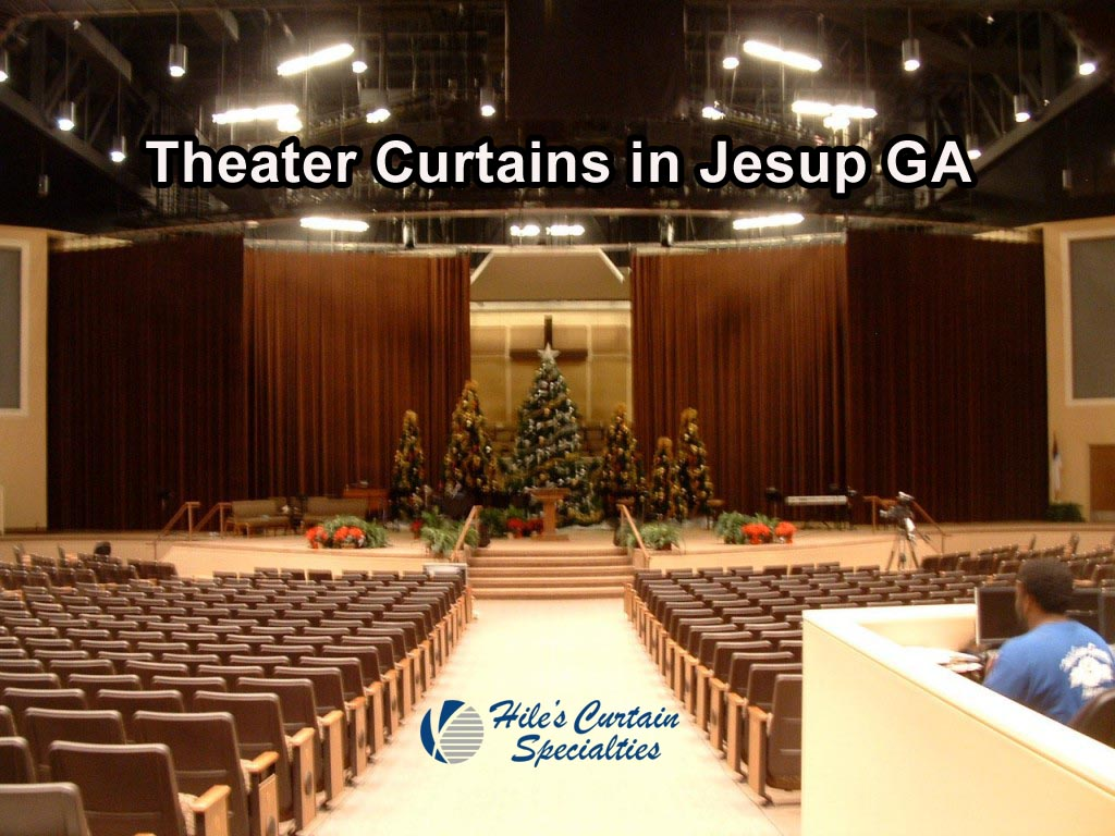 Stage Curtains In Jesup Ga Hiles Curtains Specialties