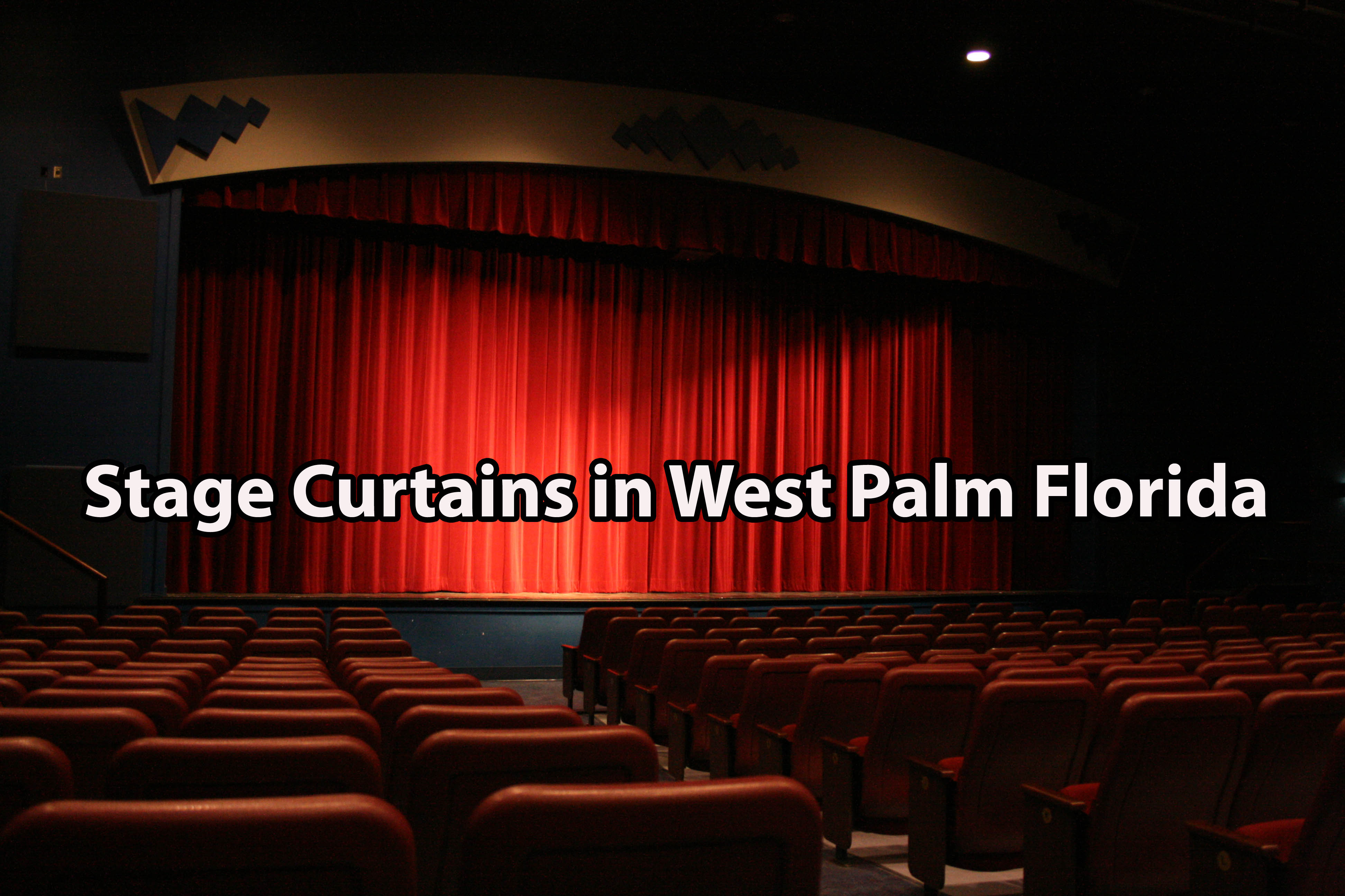 Stage Curtains in West Palm Florida