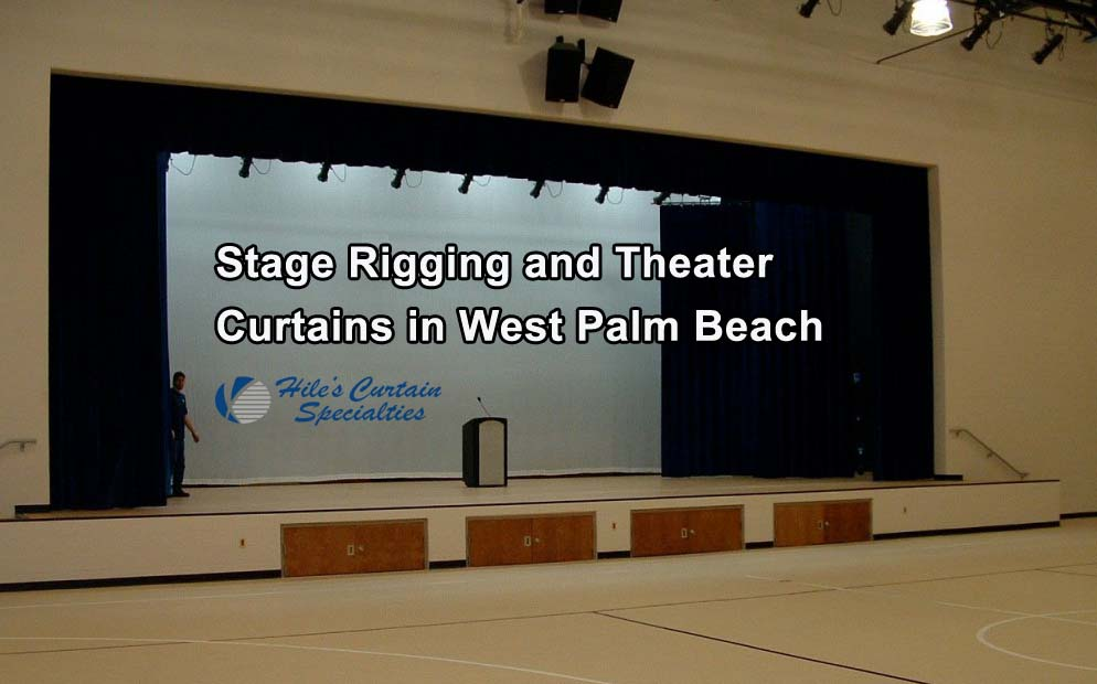 Stage Rigging and Theater Curtains in West Palm Beach