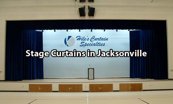 Stage Curtains in Jacksonville
