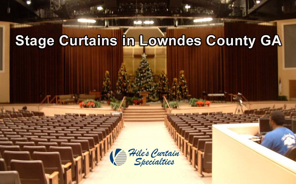 Stage Curtains in Lowndes County GA