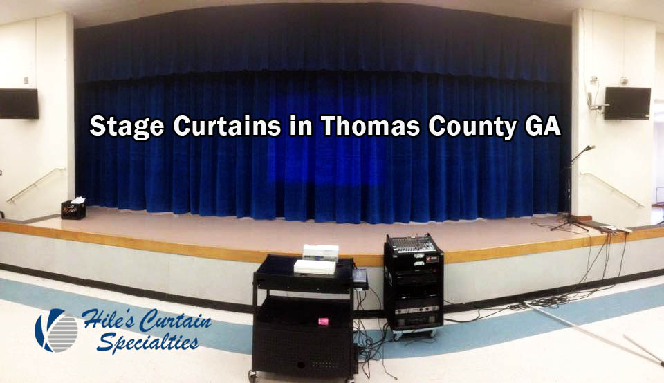Stage Curtains in Thomas County GA
