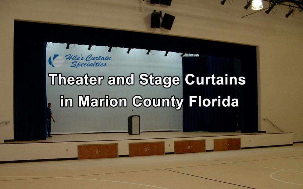 Stage Curtains in Marion County Florida
