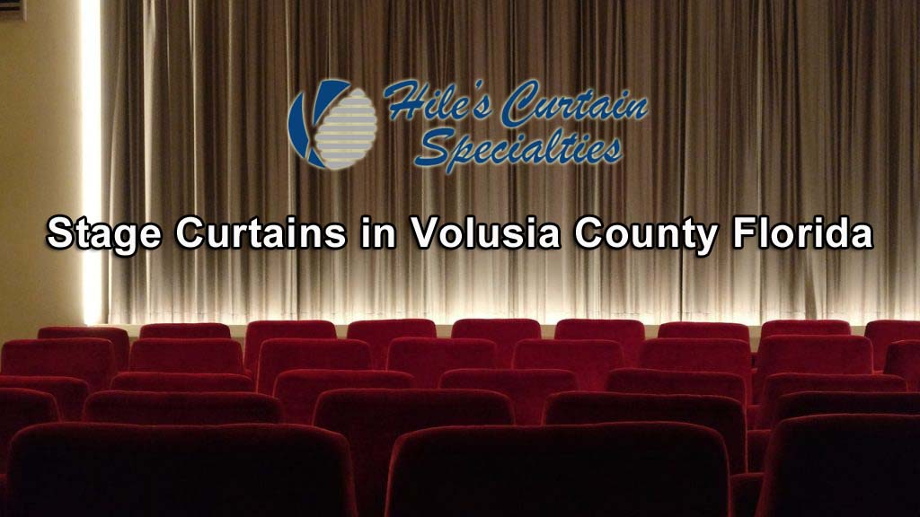 Stage Curtains in Volusia County Florida