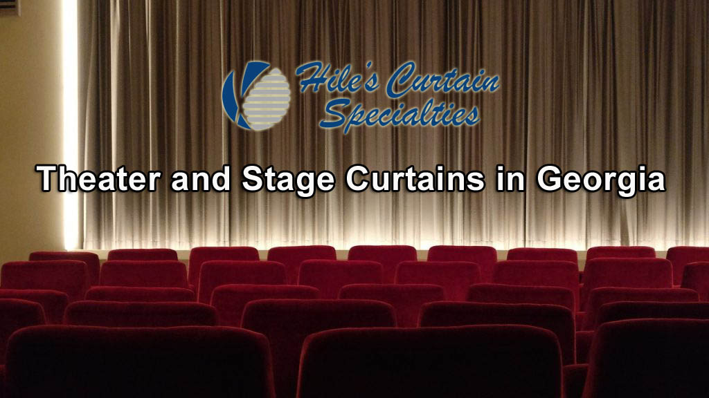Stage Curtains in Bibb County Georgia