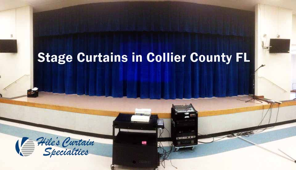 Stage Curtains in Collier County FL