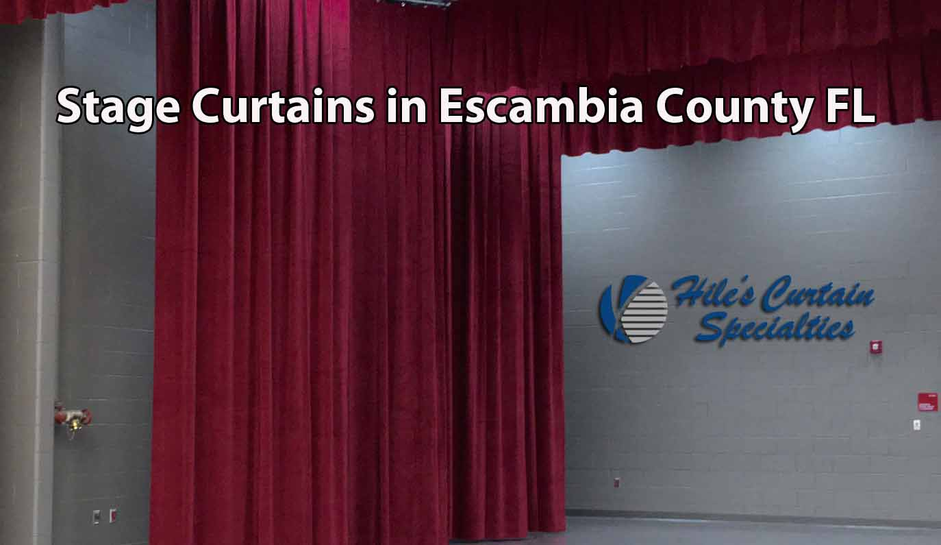 Stage Curtains in Escambia County FL