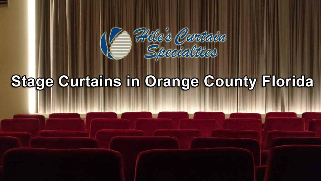 Stage Curtains in Orange County Florida