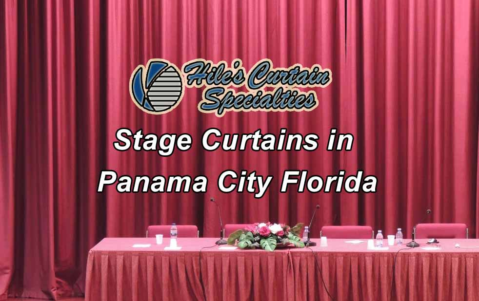 Stage Curtains in Panama City Florida