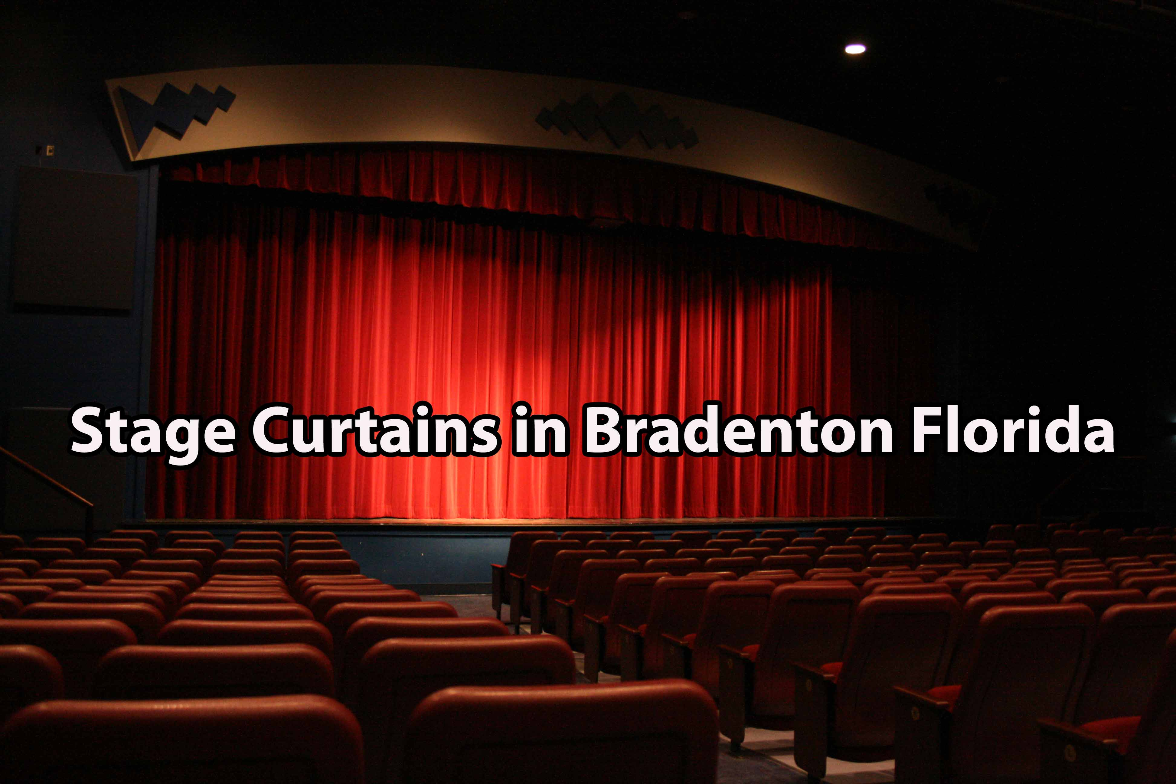 Stage Curtains in Bradenton Florida