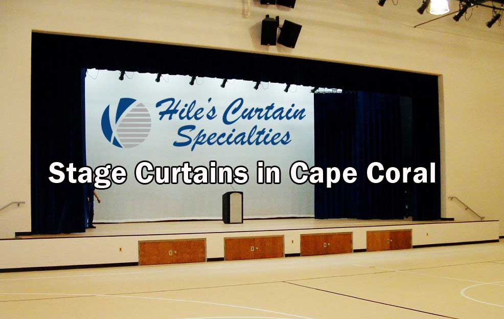 Stage Curtains in Cape Coral