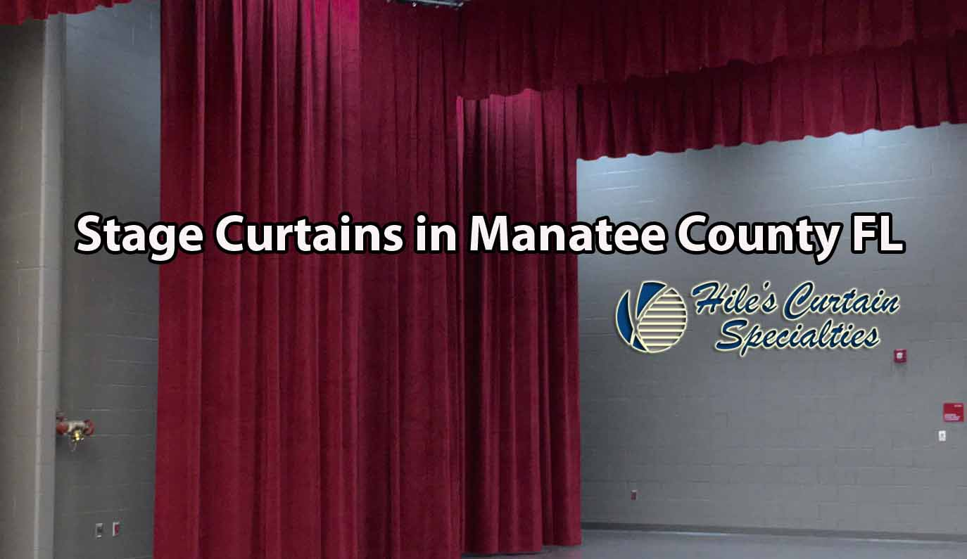 Stage Curtains in Manatee County - Hiles