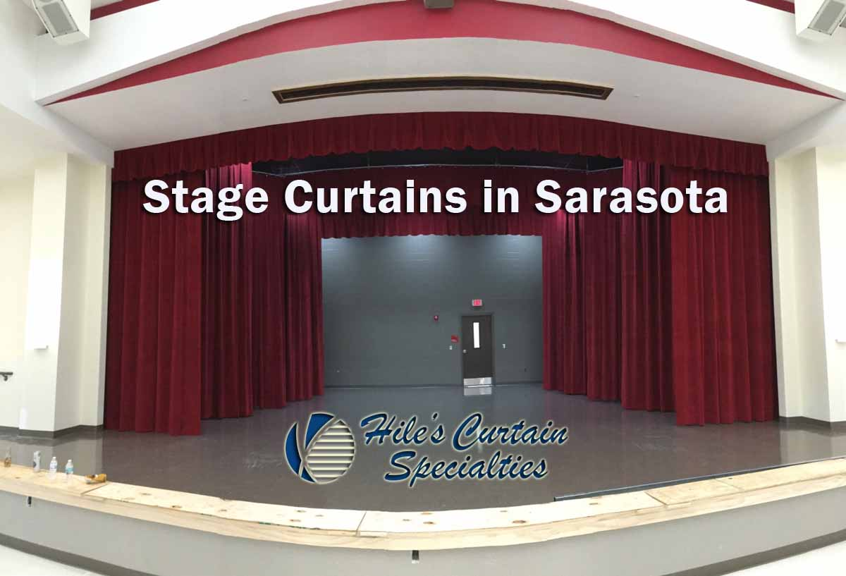 Stage Curtains in Sarasota