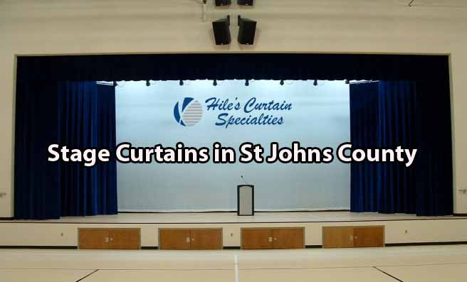 Stage Curtains in St Johns County