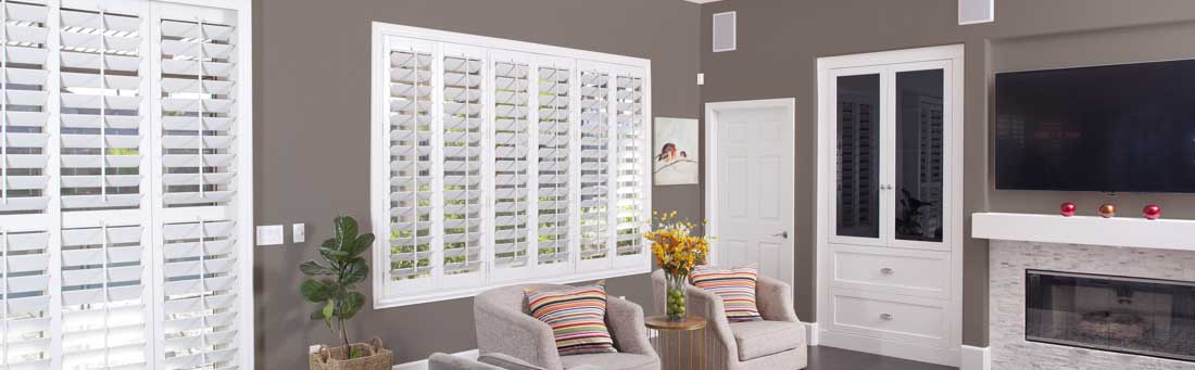 Residential Window Shutters in Tampa - Plantation Shutters