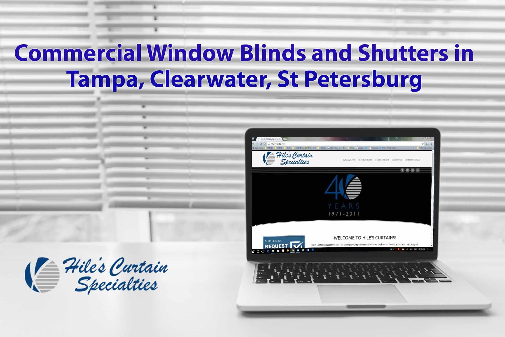 Office Window Shutters Tampa and Blinds