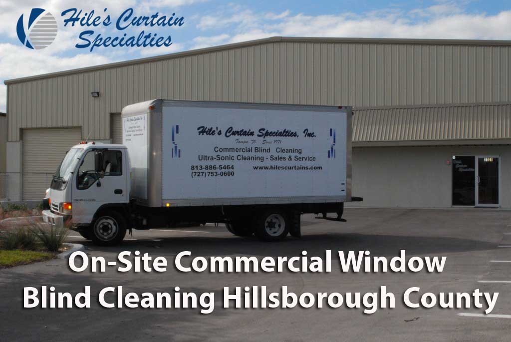 Commercial Blind Cleaning Hillsborough County