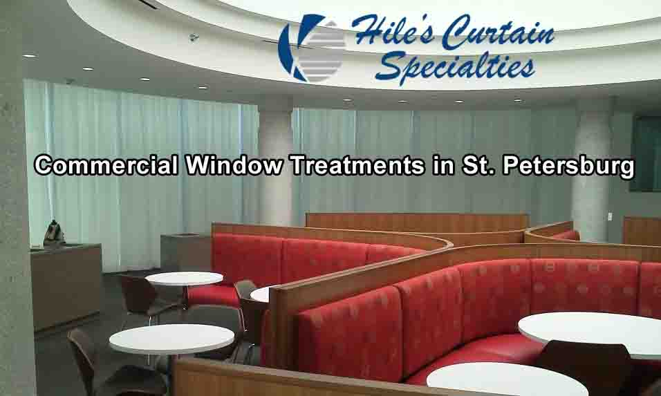 Commercial Window Treatments in St Petersburg - Clearwater - Largo - Tampa