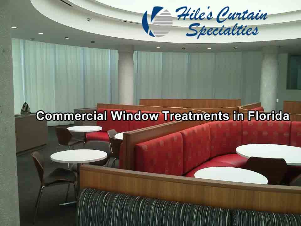 Commercial Window Treatments in St Petersburg Florida