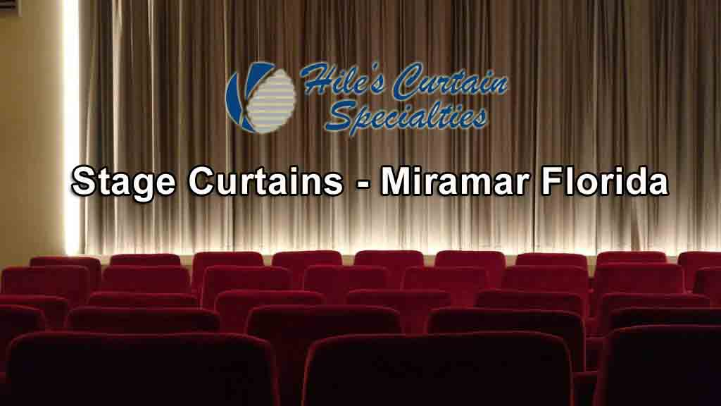 Stage Curtains - Miramar Florida