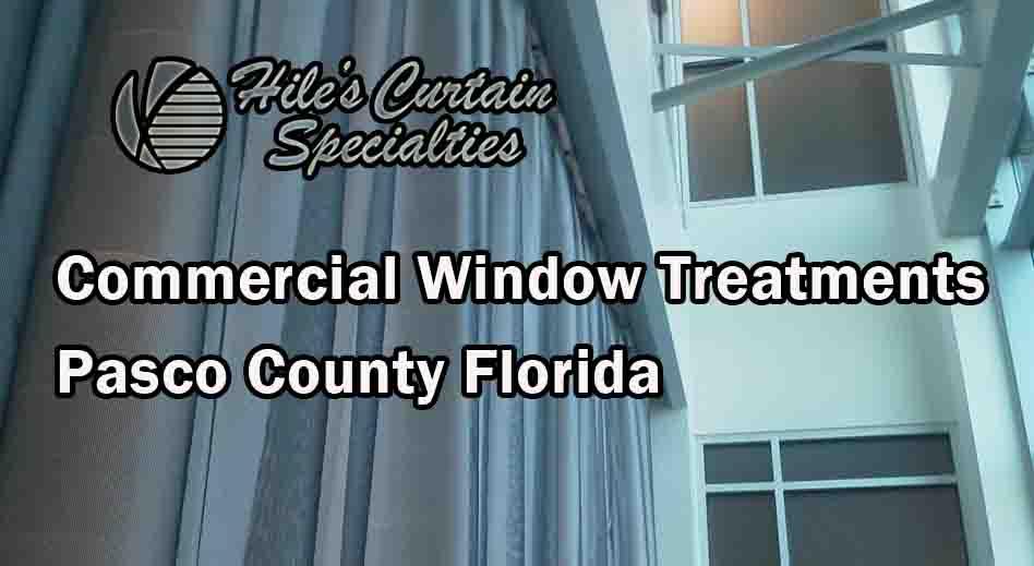 Office Window Treatments - Pasco County FL