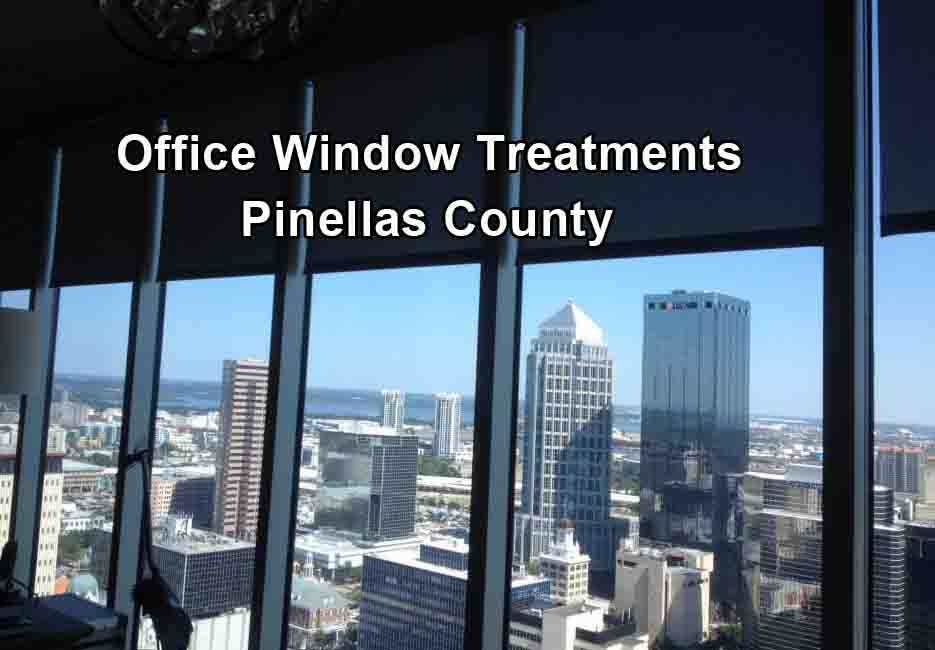Office Window Treatments - Pinellas County