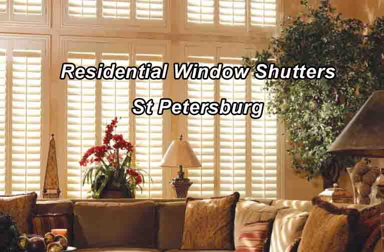 Residential Window Shutters - St Petersburg Fl