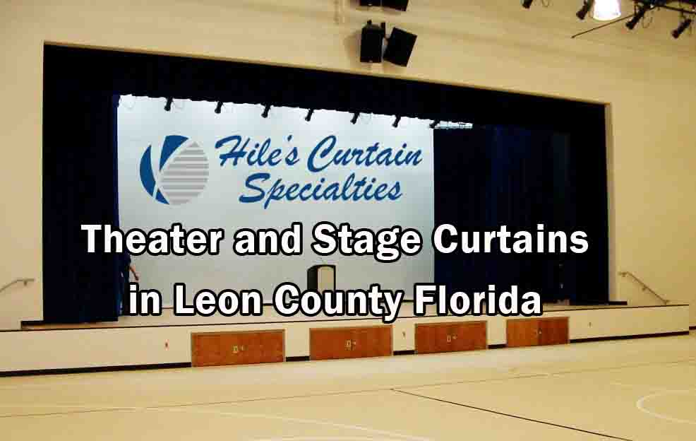 Stage Curtains - Leon County