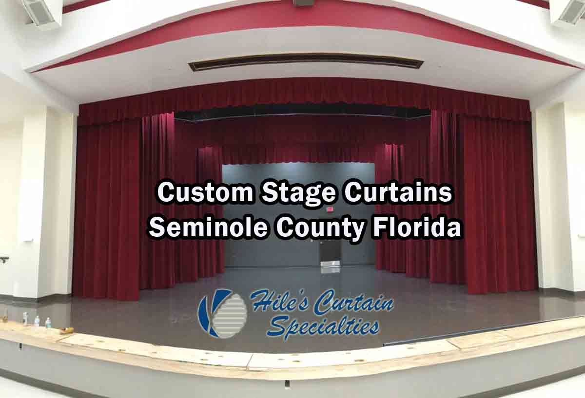 Stage Curtains - Seminole County