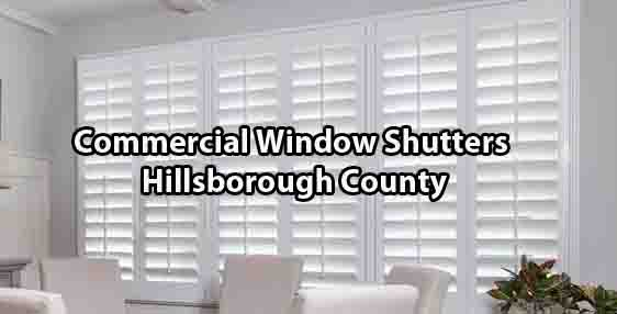 Commercial Window Shutters - Hillsborough County
